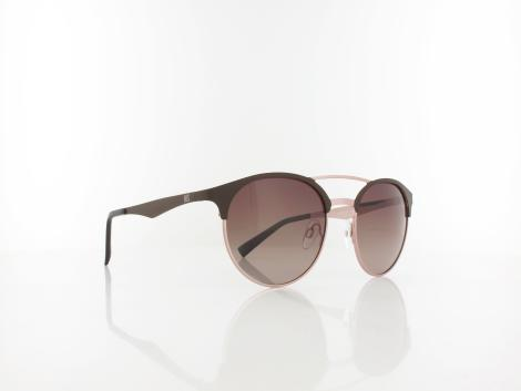HIS polarized | HPS94108-2 53 | brown / brown gradient with silver flash polarized