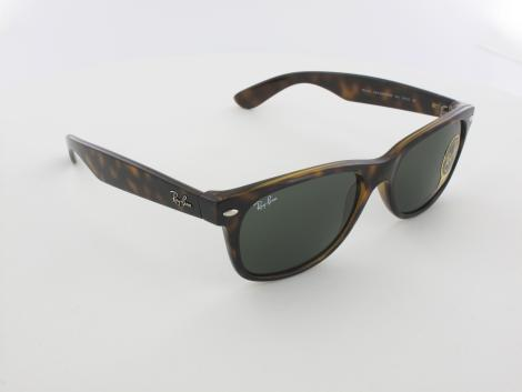 Ray Ban | New Wayfarer RB2132 902L 55 | tortoise / crystal green