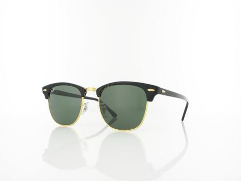 Ray Ban | Clubmaster RB3016 W0365 51 | ebony arista / crystal green