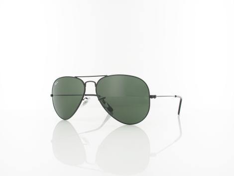 Ray Ban | Aviator Large Metal L2823 58  | black / crystal green
