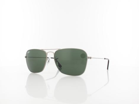 Ray Ban | Caravan RB3136 004 58 | gunmetal / crystal green