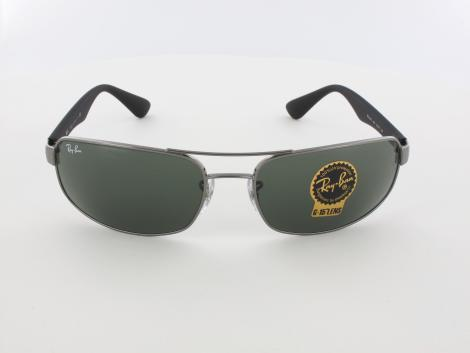 Ray Ban | RB3445 004 61 | gunmetal / green