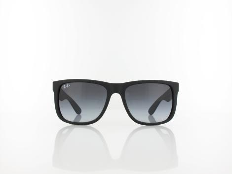 Ray Ban | Justin RB4165 601/8G 54 | rubber black / grey gradient