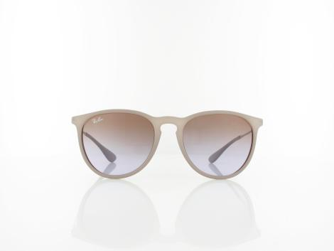 Ray Ban | Erika RB4171 600068 54 | dark rubber sand / brown gradient