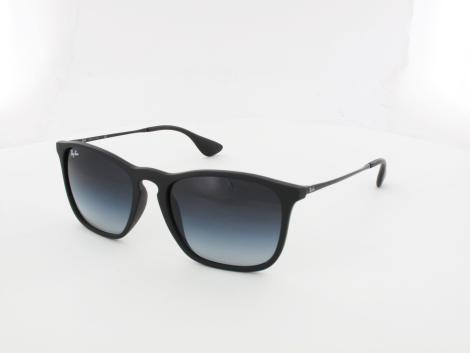 Ray Ban | Chris RB4187 622/8G 54 | rubber black / grey gradient