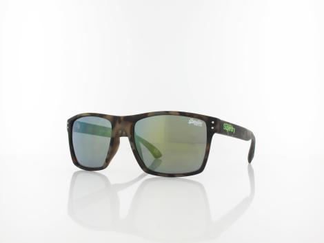 Superdry | Kobe 122 57 | dark brown camo / green mirror