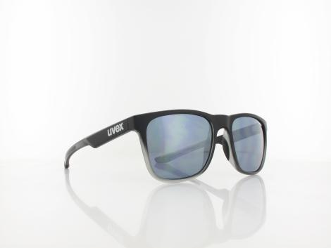 UVEX | lgl 42 S532032 2916 54 | black transparent / mirror silver