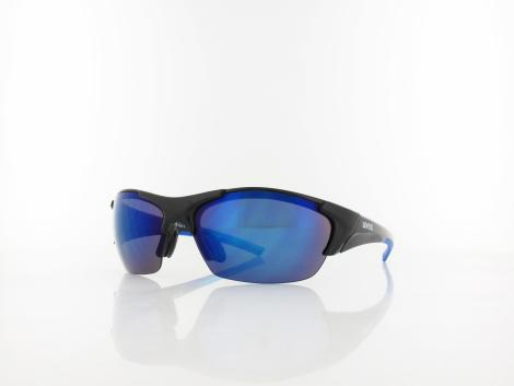 UVEX | blaze III S532046  2416 70 | black blue / mirror blue - ltm orange - clear