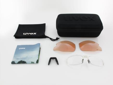 UVEX | RXi 4100 9006 1100 78 | polished black / grey